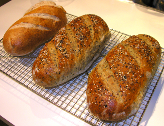 Sourdough and Seed breads